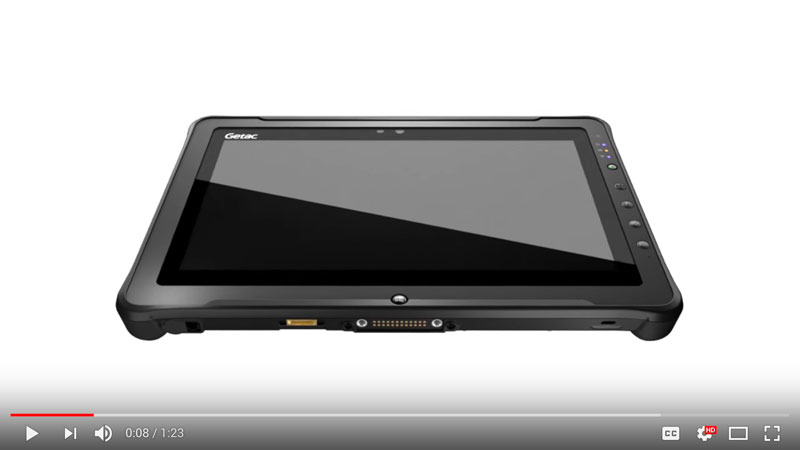 Getac F110 Product Video