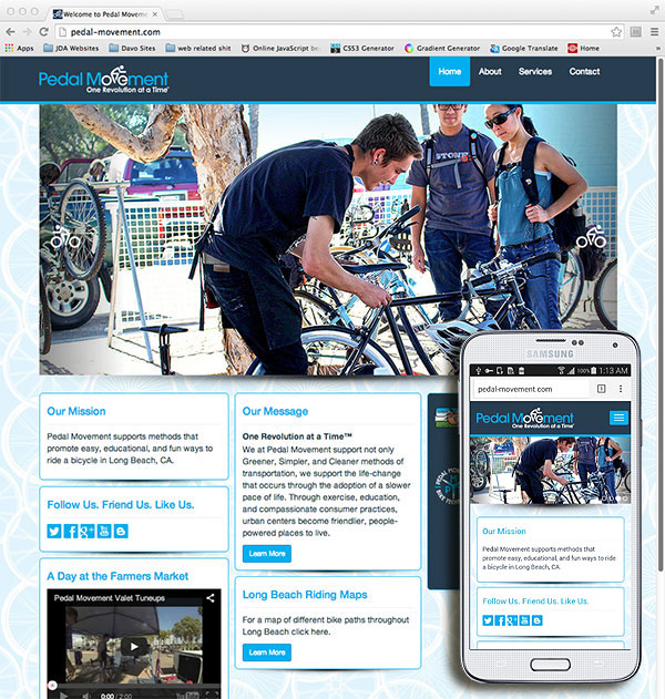 Click to Visit the Pedal Movement Website